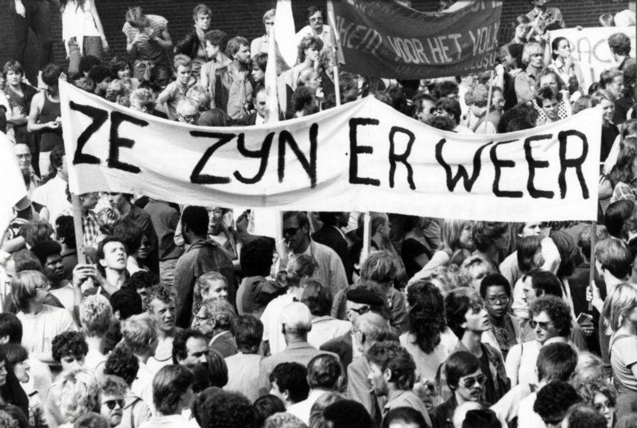 Afbeelding van Nederland in de ban van demonstraties