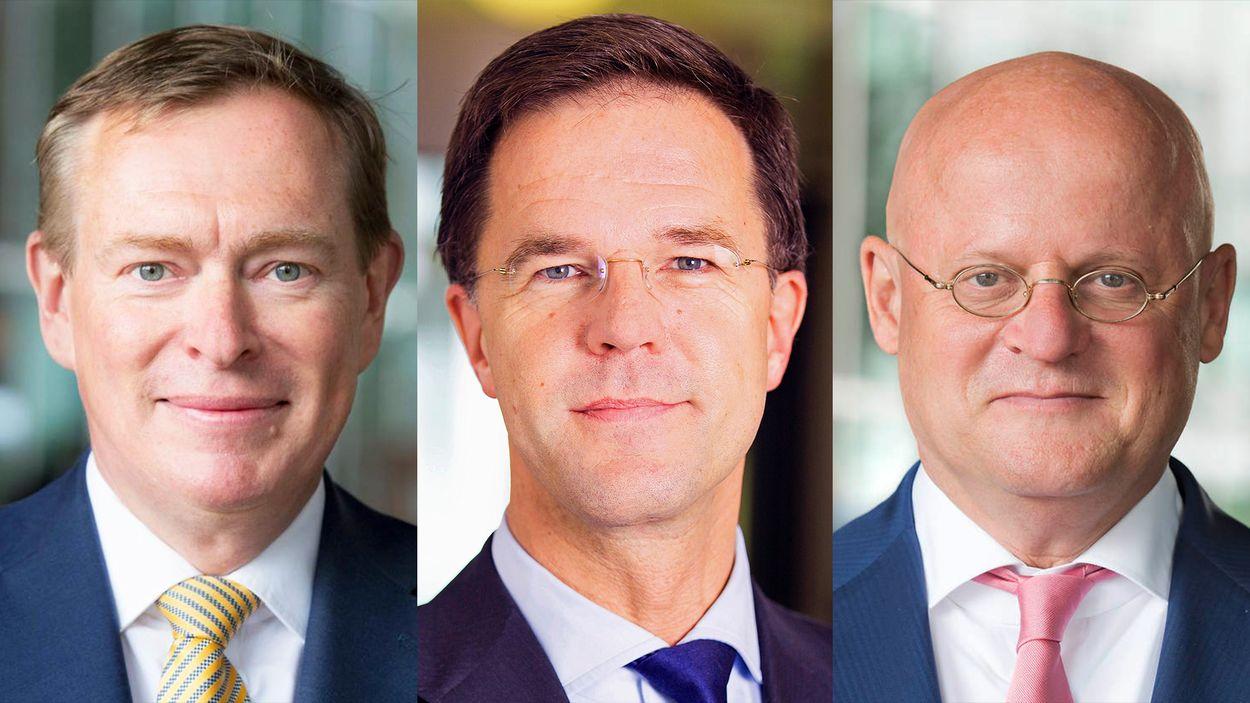 Afbeelding van Mark Rutte, minister Bruins (Sport) en minister Grapperhaus (Justitie) gaan in gesprek met de KNVB over racisme in de voetbalwereld