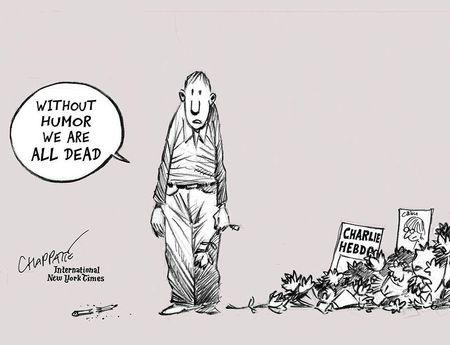 Afbeelding van Wat mag wel en niet in politieke cartoons?