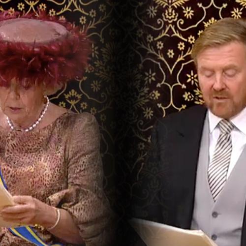 Afbeelding van Prinsjesdag toen en nu: hoe zag het er tien jaar geleden uit?