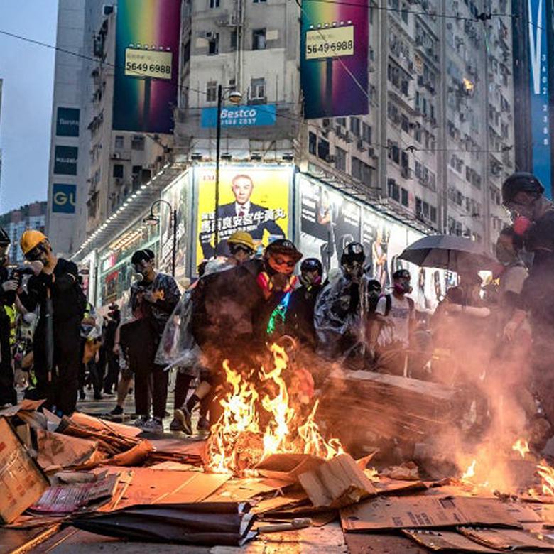 """Afbeelding van Politiecommissaris: """"Hongkong aan de rand van de afgrond"""""""
